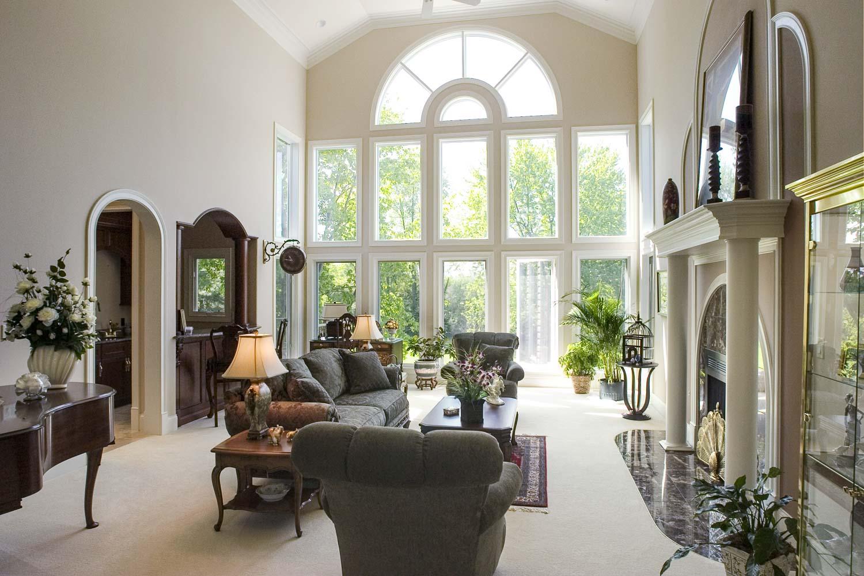 Luxury Home Living Rooms | Baumgartner Homes