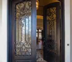 Custom Luxury Home Entrance