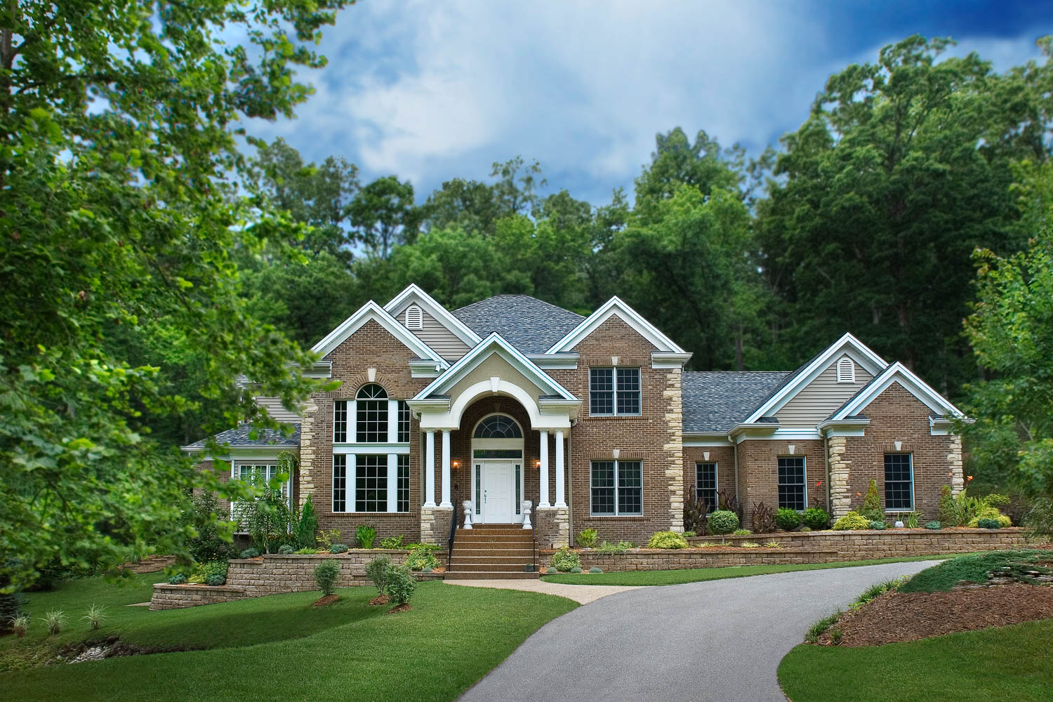 Charming Sculpt A Unique Landscape And Allow Your Dream House To Become A Reality  With Baumgartner Homes.