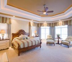 Custom Luxury Home Bedroom