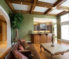 Custom Luxury Home Living Rooms